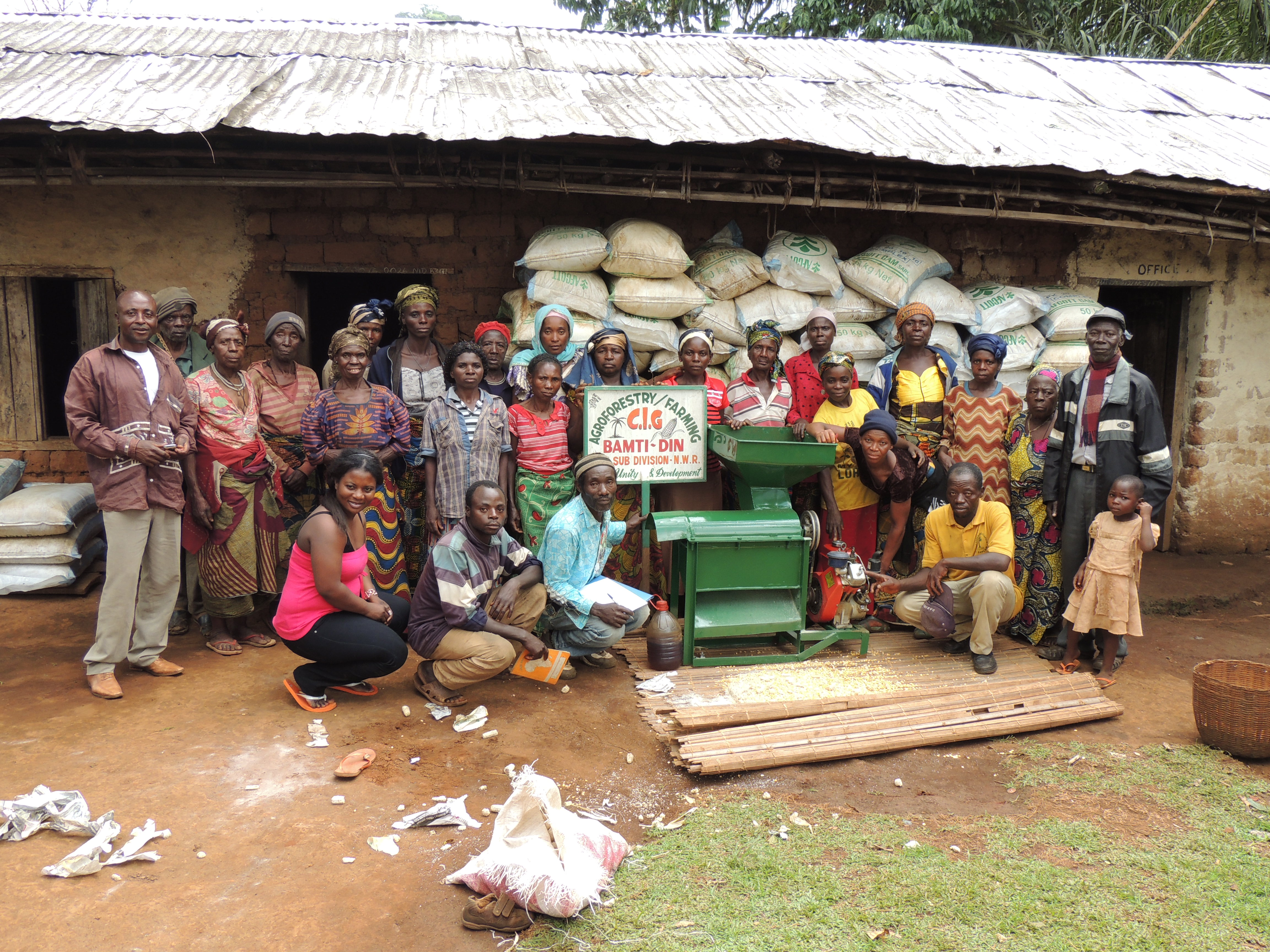 Project funding CIG, NWR Cameroon