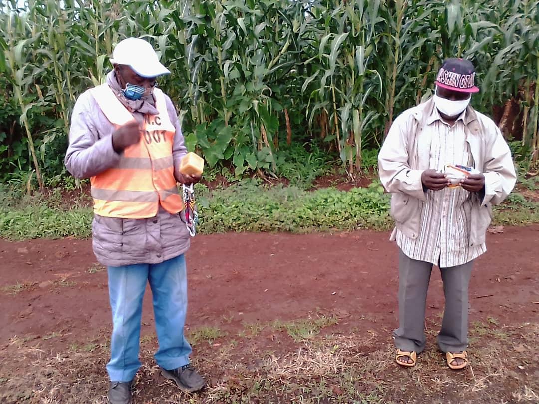 Farmers from Ndop
