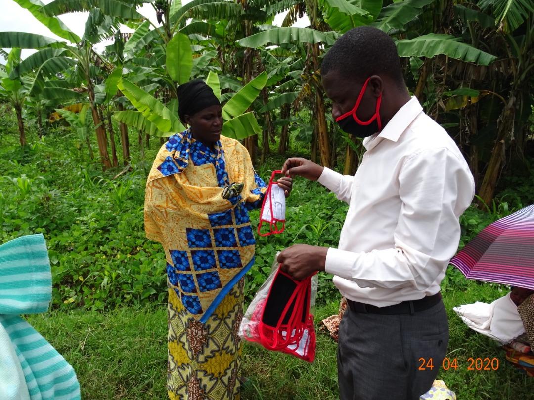 Smallholder farmers Rwanda