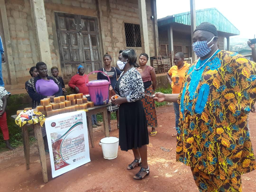 COVID-19 campaign Bamenda, Cameroon