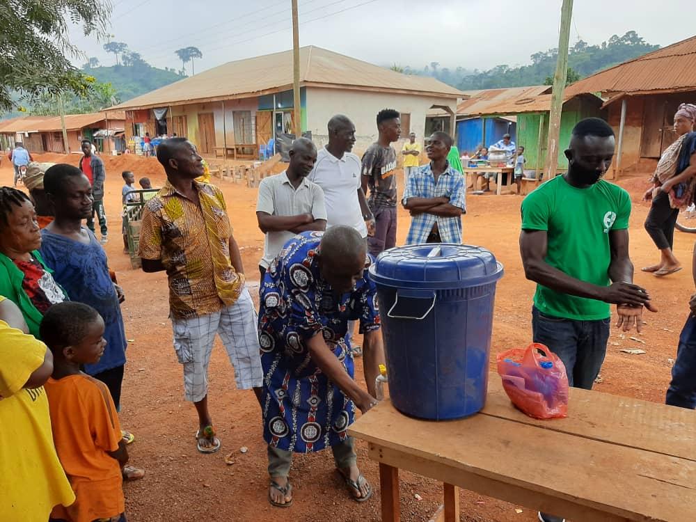 Covid-19 campaign Ghana